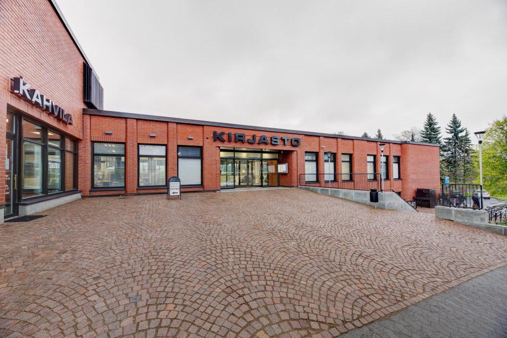 Aikkon Hämeenlinnan Kirjasto 1